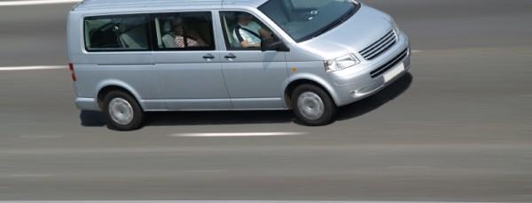 Minibus Faro in Transit