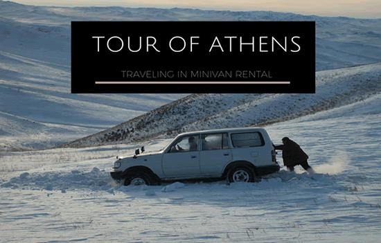 Tour of Athens While Traveling in Minivan Rental-min